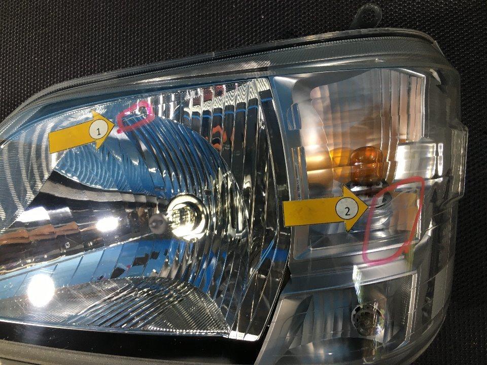 ヘッドランプAyLH - ハイゼットトラック  Ref:SP274726_1090     4/5