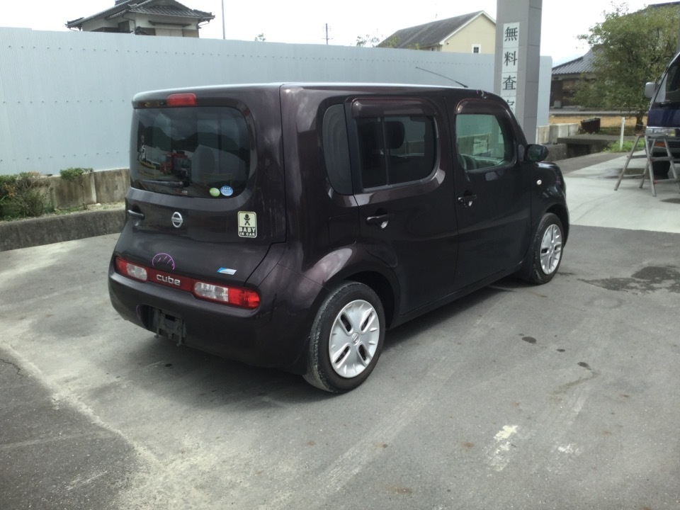 NISSAN Cube   Ref:SP275920     4/16