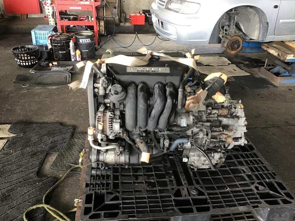 エンジン&トランスミッション - ステップワゴン  Ref:SP276087_1     6/11