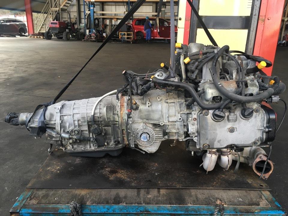 エンジン&トランスミッション - レガシィ  Ref:SP278797_1     6/12