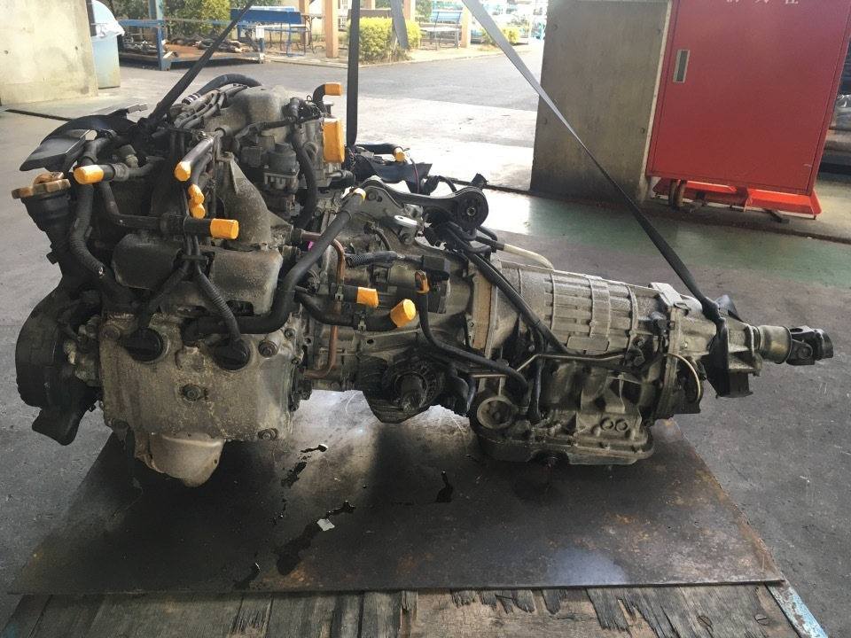 エンジン&トランスミッション - レガシィ  Ref:SP278797_1     8/12