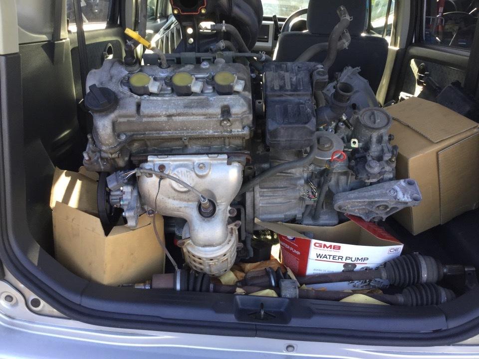 エンジン&トランスミッション - ワゴンR  Ref:SP279937_1     2/2