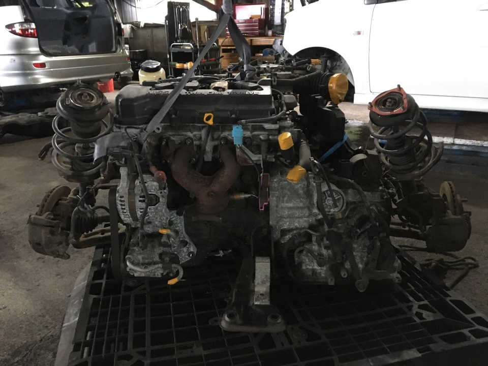エンジン Fアクスルセット - ADバン  Ref:SP280020_9218     4/9