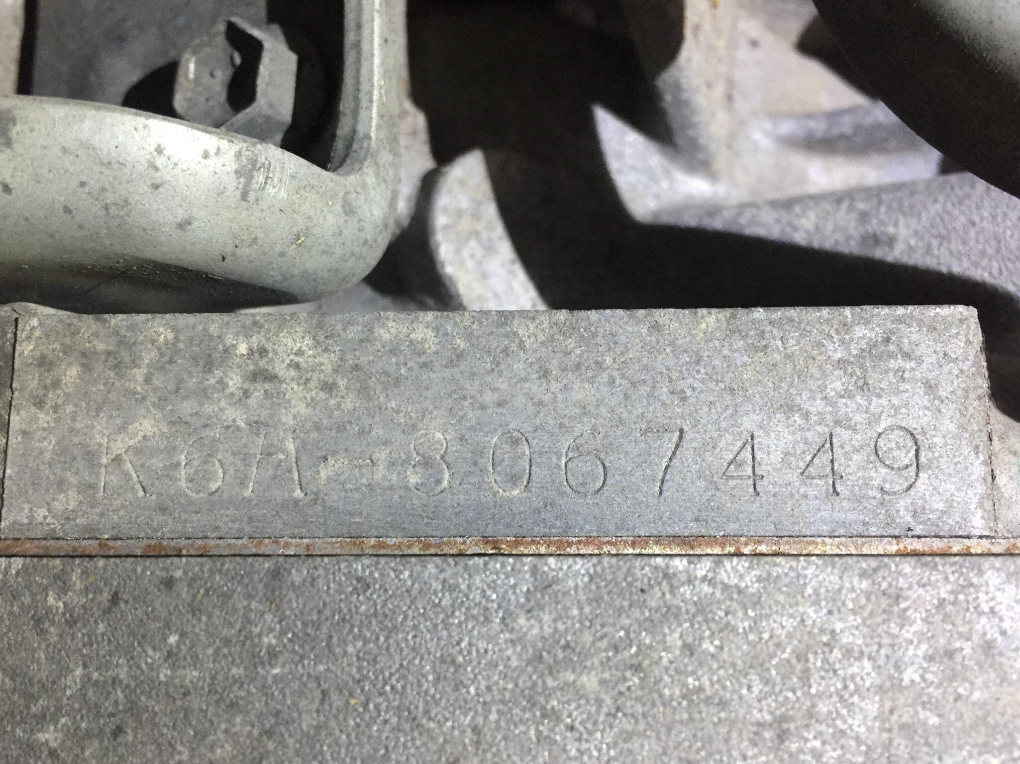 エンジン&トランスミッション - ワゴンR  Ref:SP281347_1     4/4