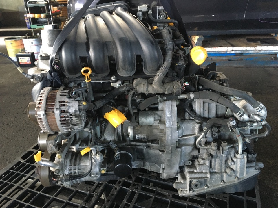 エンジン&トランスミッション - キューブ  Ref:SP282352_1     4/11