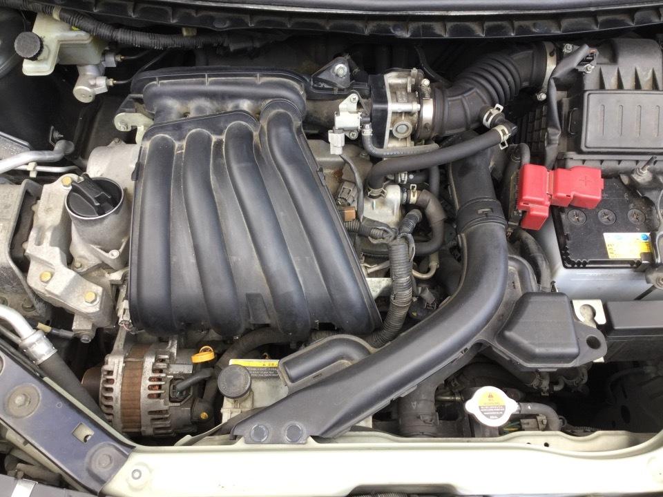 エンジン&トランスミッション - キューブ  Ref:SP282352_1     1/11