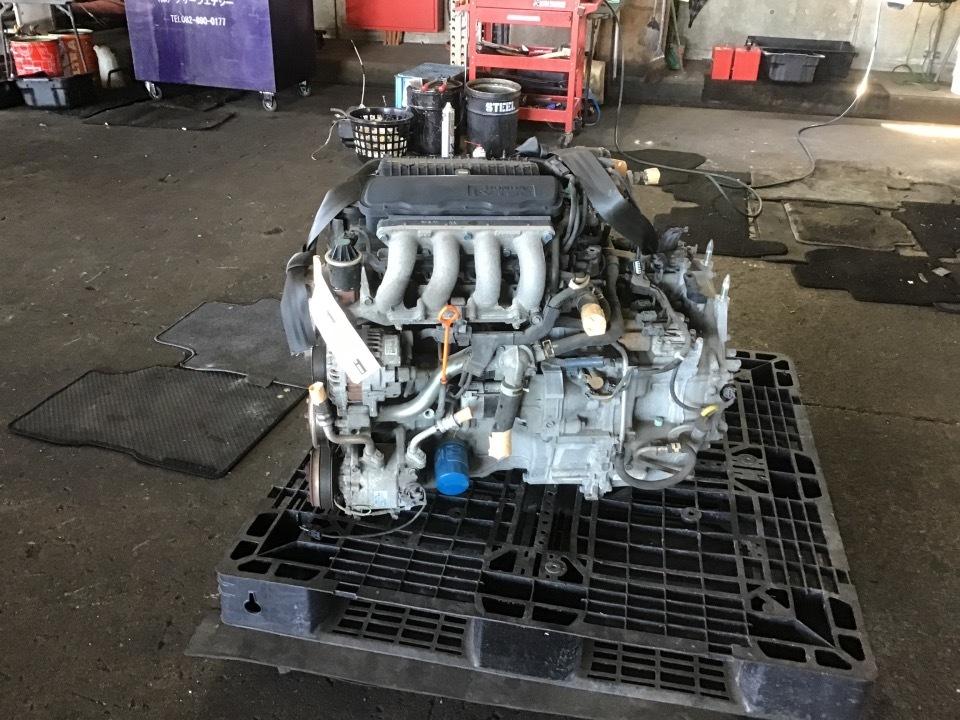 エンジン&トランスミッション - フィット  Ref:SP282525_1     6/11