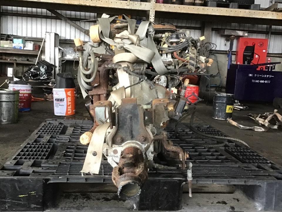 エンジン&トランスミッション - ボンゴトラック  Ref:SP284668_1     10/12
