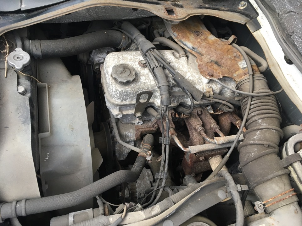 エンジン&トランスミッション - ボンゴトラック  Ref:SP284668_1     1/12