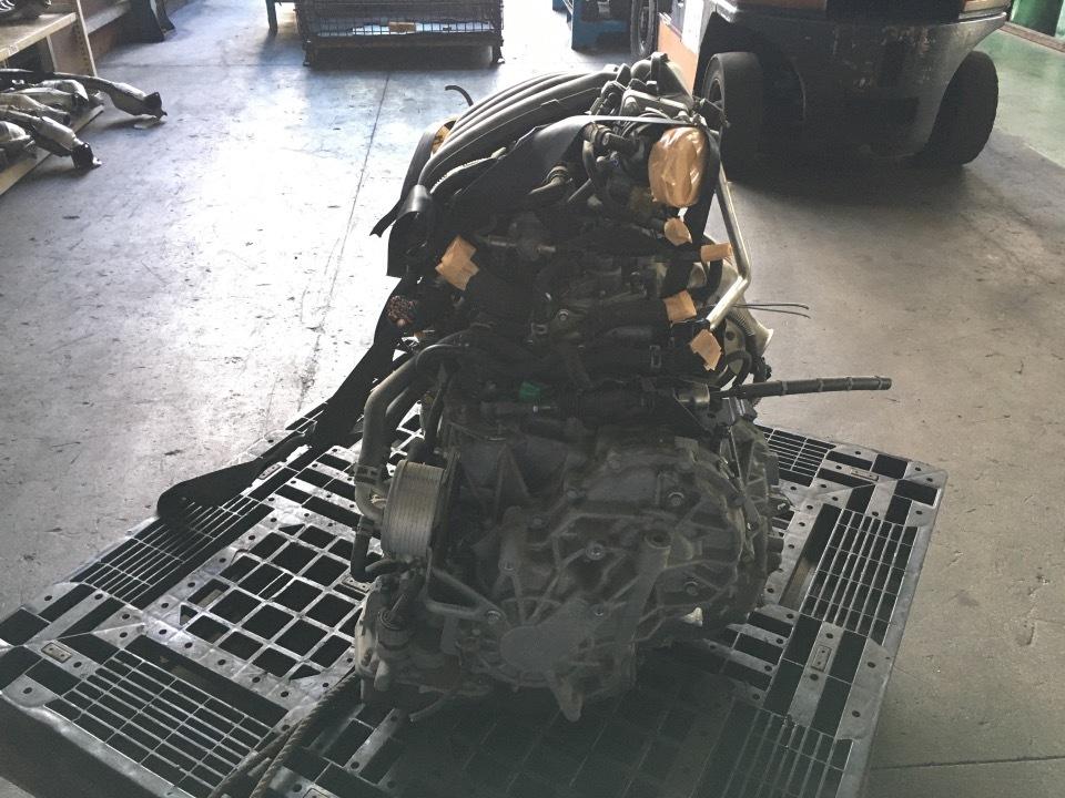 エンジン&トランスミッション - キューブ  Ref:SP286030_1     8/12