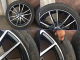TIRE WITH ALUMI WHEEL - Special car others 1/8